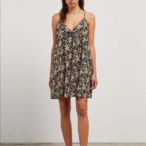 NWT volcom floral mini dress